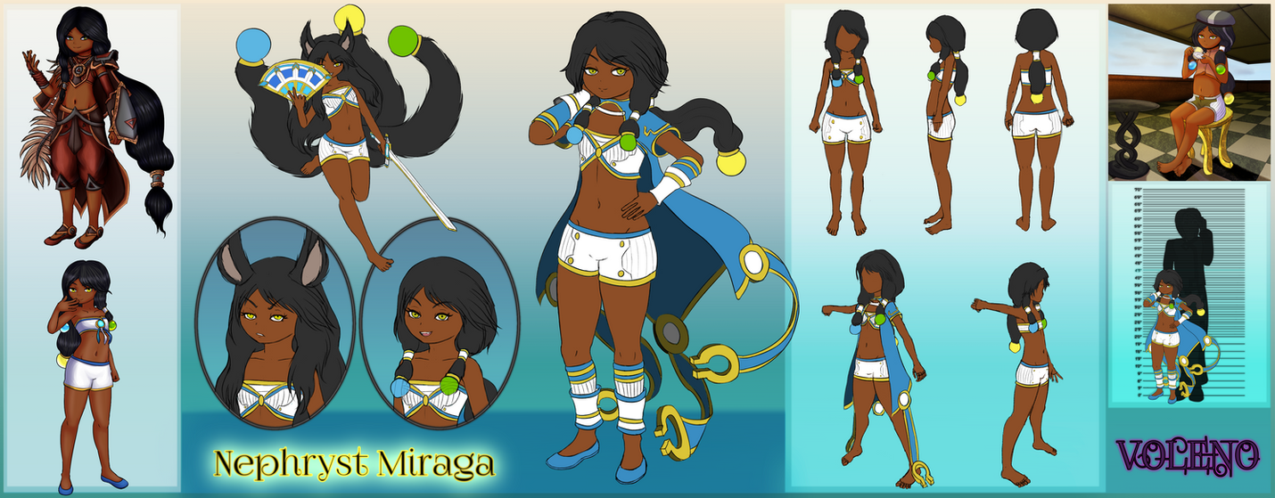 [Character] Nephryst Miraga by Voleno