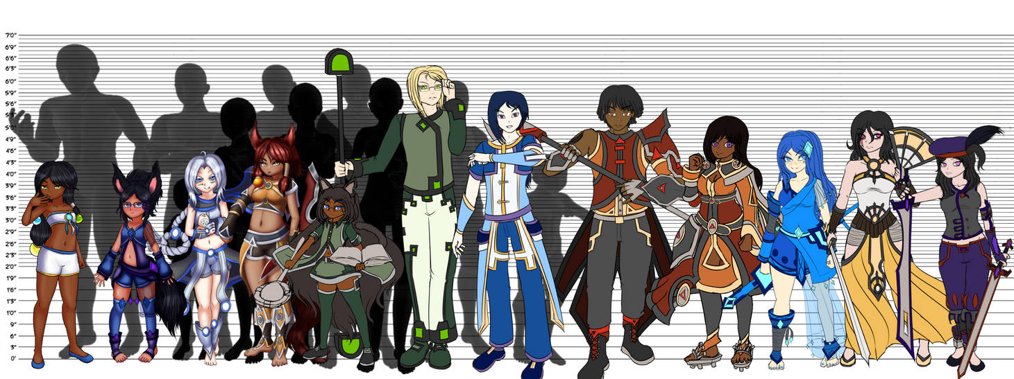 [Character] Height Reference