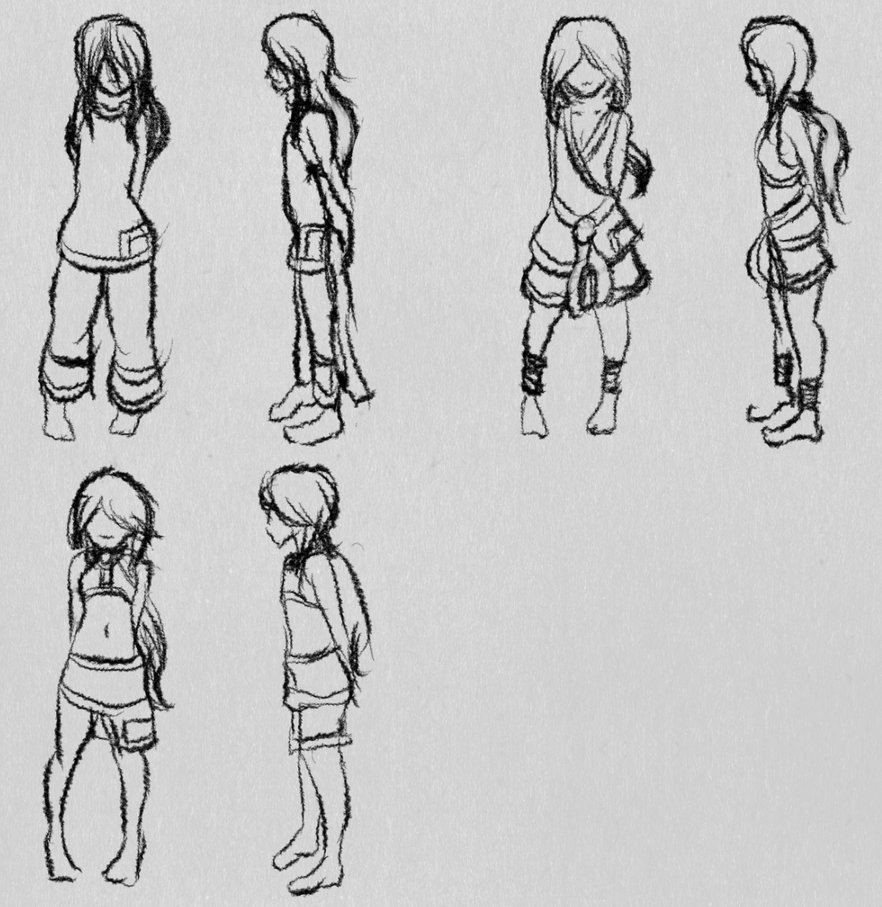 Neph Story Outfits WIP 01 by Voleno