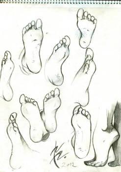 Keneru 2012 - Soles Feet