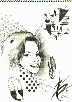 Keneru 2012 - Portrait of Giulia