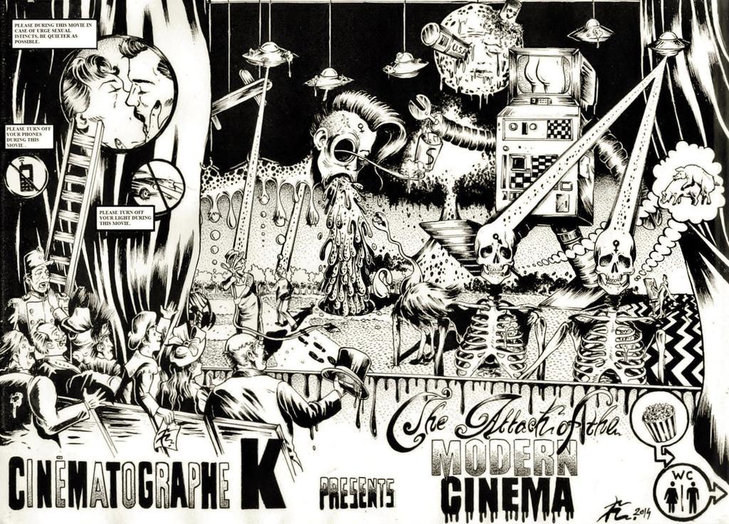 Keneru 2014 - The Attack of the Modern Cinema by Keneru92