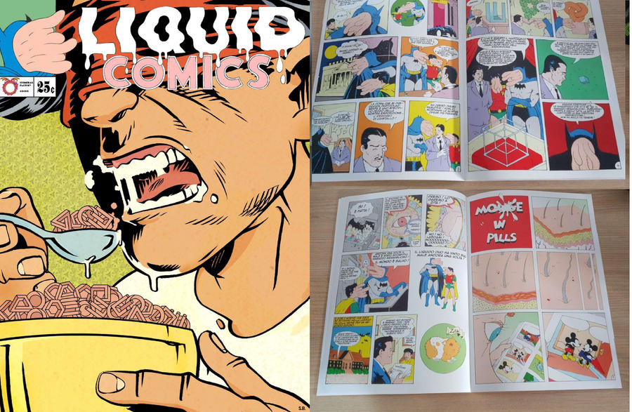 LIQUID COMICS by Keneru92