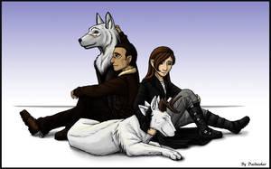 Lio and Cordrielia by daidaishar