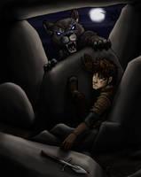Teucer and the werewolf by daidaishar