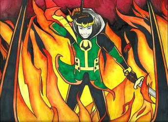 Kid Loki by daidaishar
