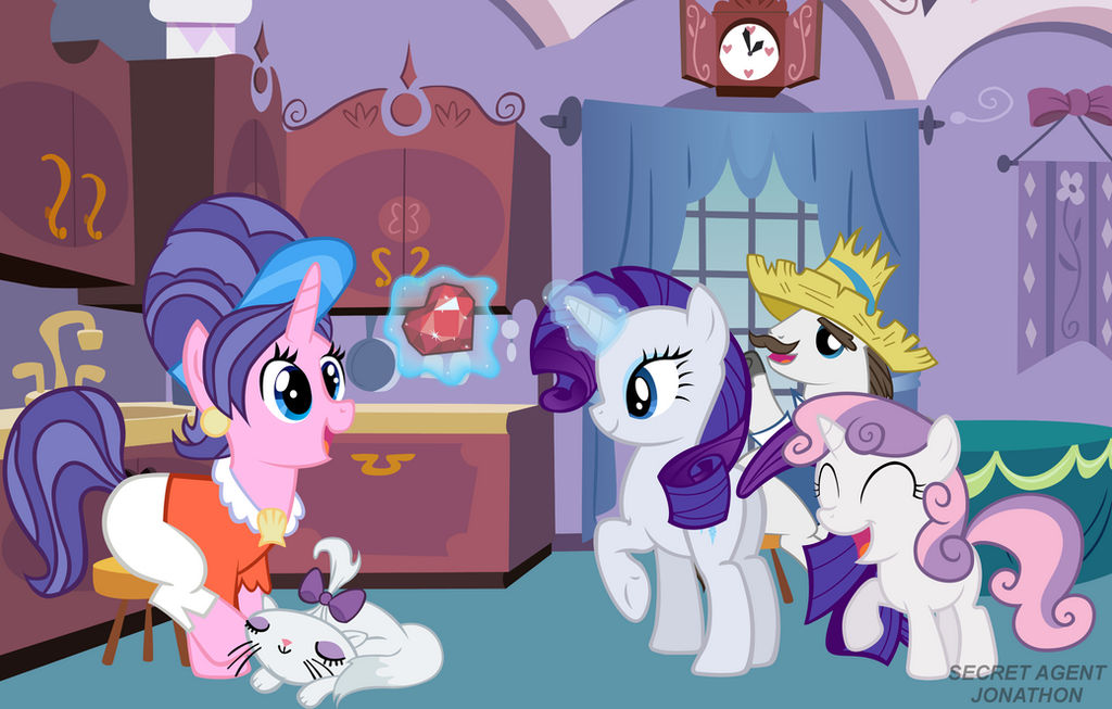 Rarity Wishes Her Mother A Happy Mother's Day!