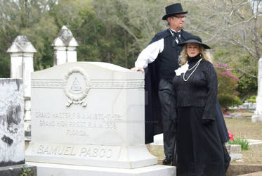 Cemetery Re-enactment
