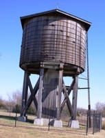 Wooden Water Tower