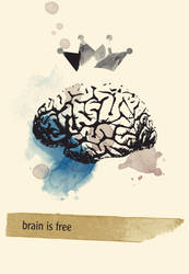 brain is free