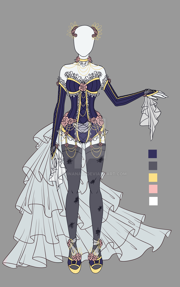 Adoptable outfit 8(closed) by LaminaNati on DeviantArt