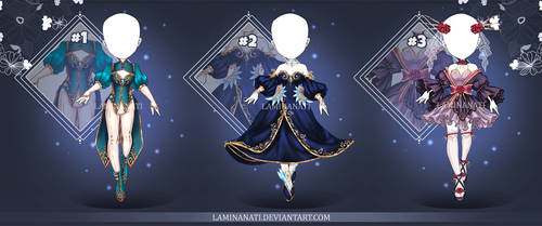 Adoptable Outfit Auction 78-80(closed)