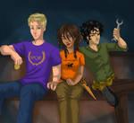 The Lost Hero Trio