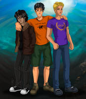 Big Three Boys by juliajm15