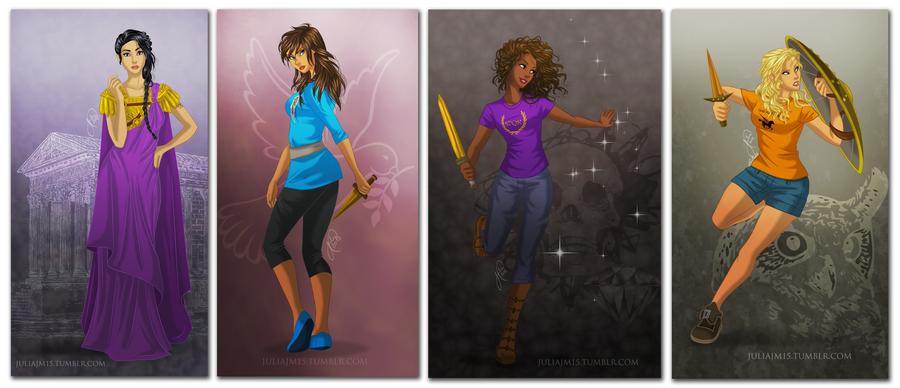 Heroines of Olympus by juliajm15
