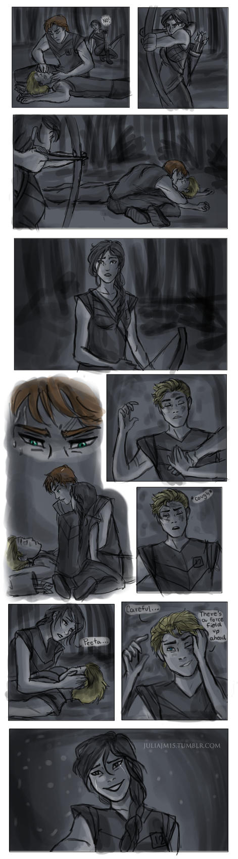 Saving Peeta by juliajm15