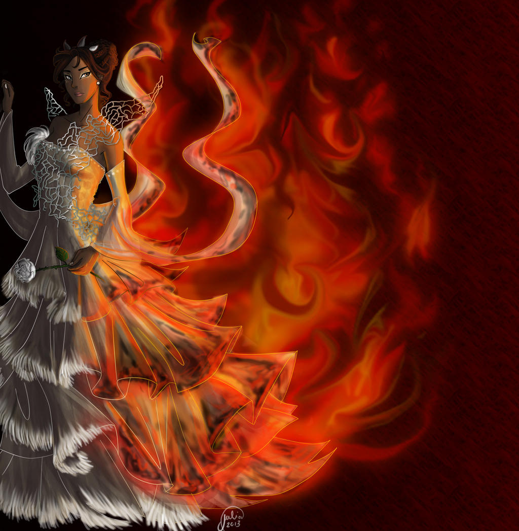 The Bride on Fire by juliajm15