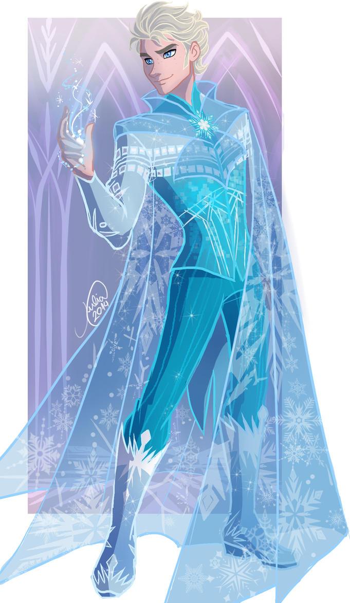 Genderbend Elsa by juliajm15