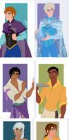 Disney Girls - Genderbend