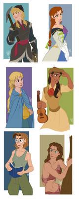 Disney Guys - Genderbend