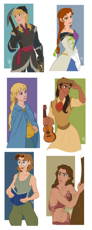 Disney Guys - Genderbend