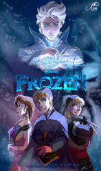 Frozen Genderbend Movie Poster
