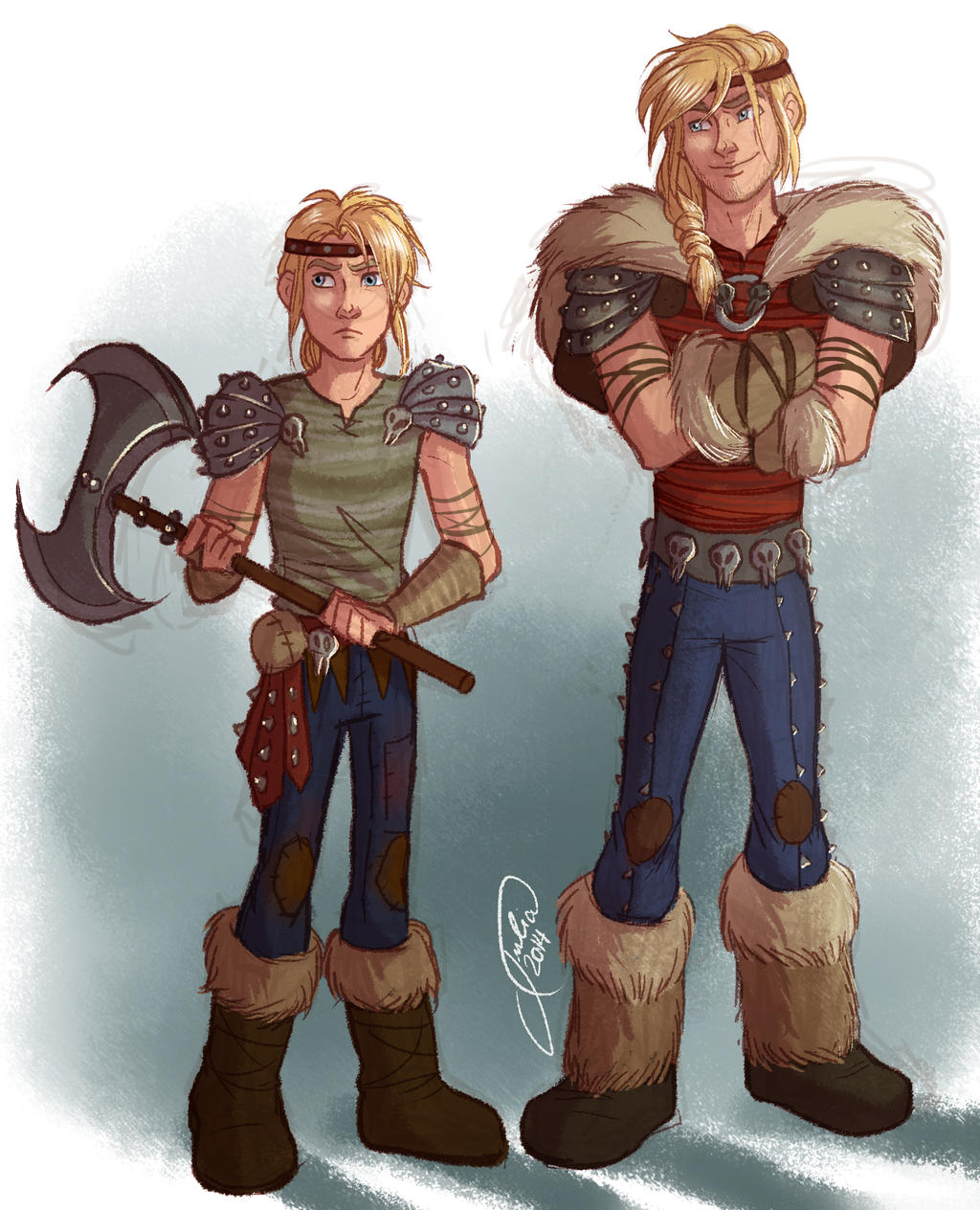 Man!Astrid by juliajm15