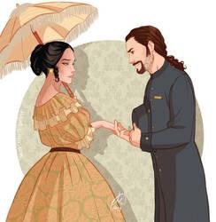 Elinor and Thomas by juliajm15