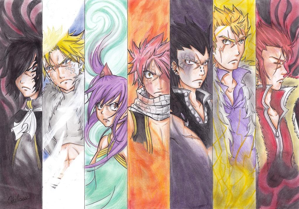 Fairy Tail Wallpaper 7 Dragon Slayer Download