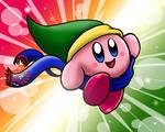 Hyrule Warrior Kirby by CallistoHime