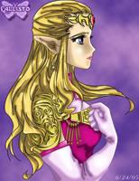 Princess Zelda Profile by CallistoHime