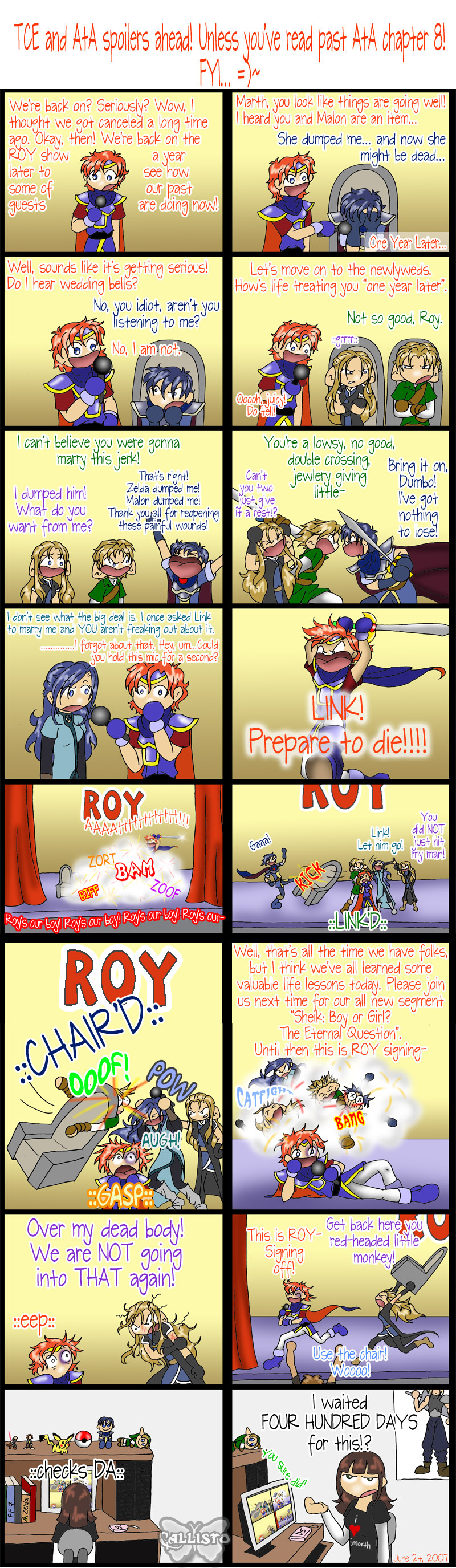 The Roy Show 3 by CallistoHime