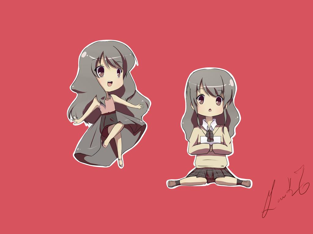 Yuukei Yesterday parody by Yuriko-chan19