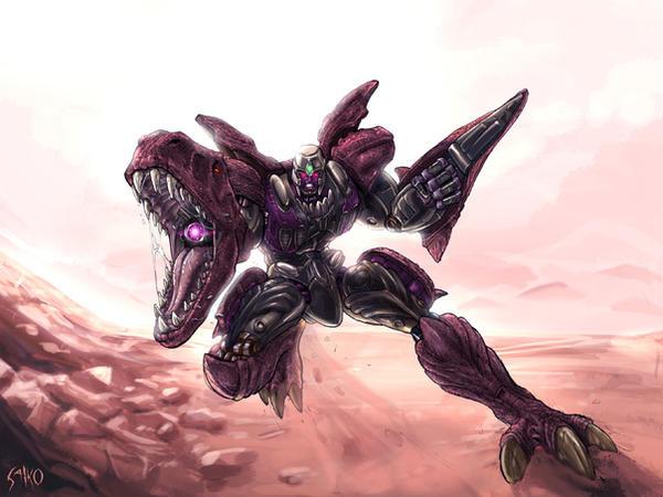 Beast Wars Megatron by EspenG