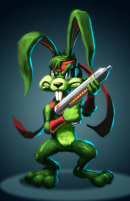 Jazz Jackrabbit by EspenG