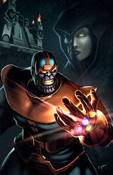 The Infinity Gauntlet by EspenG