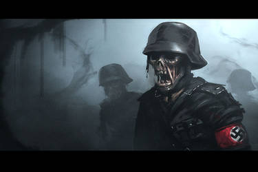 Nazi zombies by EspenG