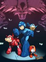 Mega Man Tribute by EspenG