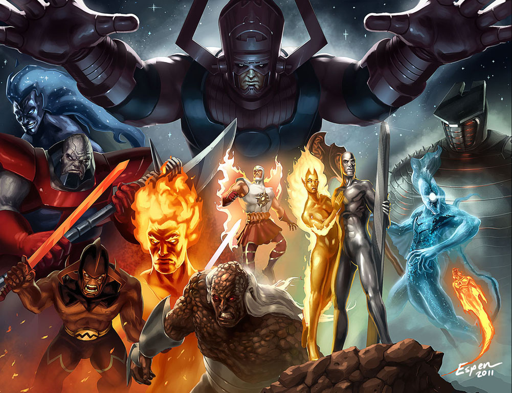 Heralds Of Galactus by EspenG