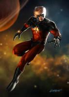 Marvel Captain Marvel by EspenG