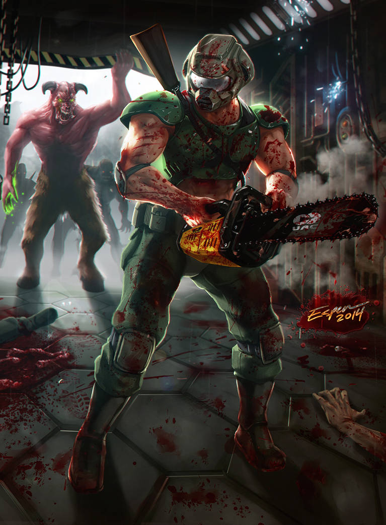 Explore Best Doomguy Art On Deviantart