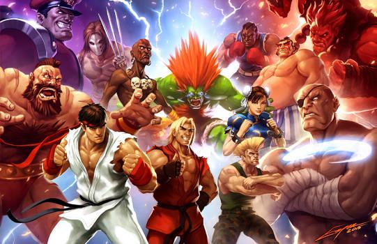 Street Fighter (Capcom Fighting Tribute)