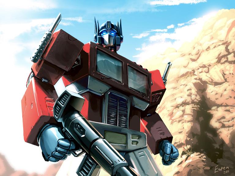 Optimus Prime by EspenG