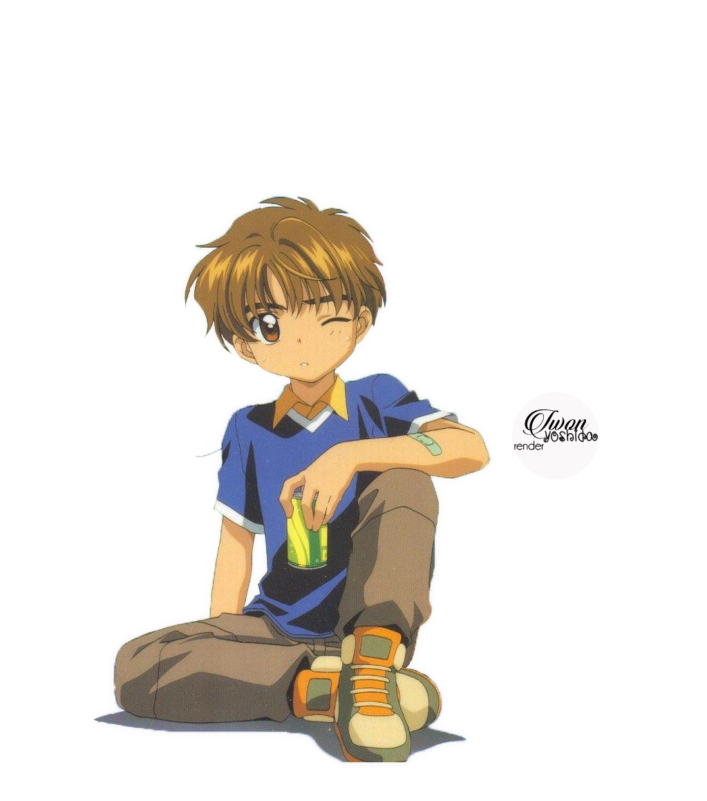 Render Syaoran Kurogane By Skehehdanfdldi On Deviantart: Render #9 Li Syaoran By Iwon26 On DeviantArt