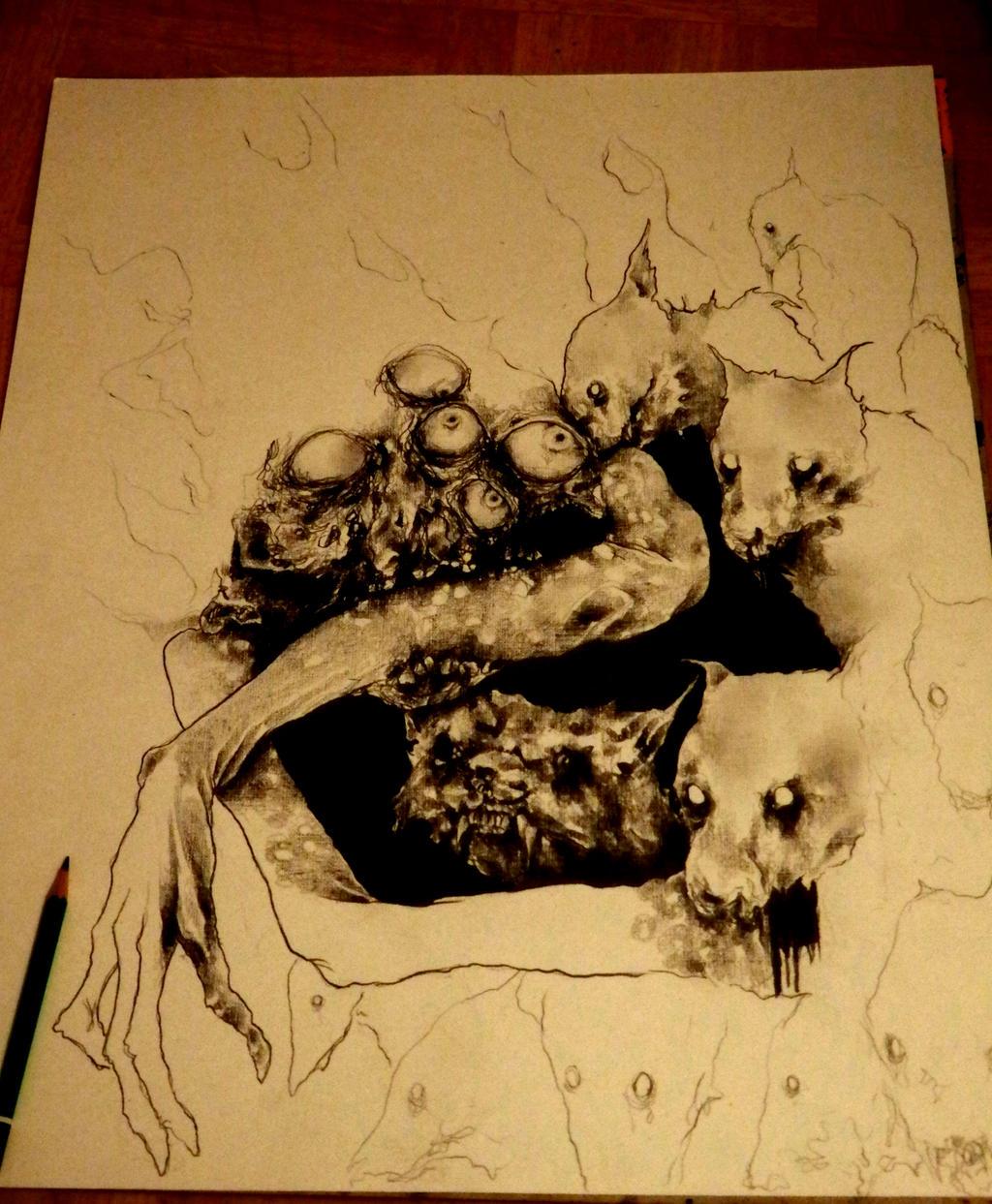 Allegorie de la Peste by PriestofTerror