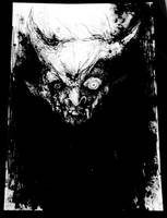 Demon sketch by PriestofTerror