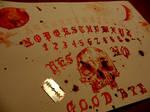 Ouija board work in progress