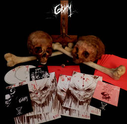 GRIIIM I edition cd with original art