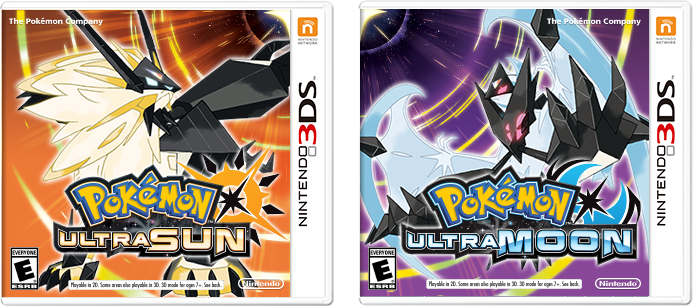 Pokemon Ultra Sun and Ultra Moon Boxes (Fanmade) by FieryDinoPiranha