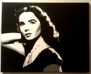 Elizabeth Taylor by julydart